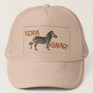 Zebra Safari Kenya Cap