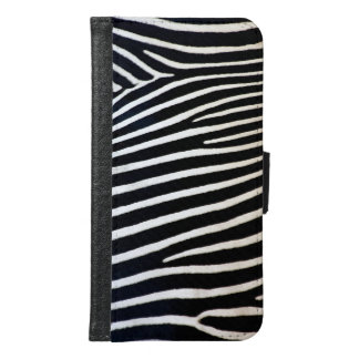 Zebra Samsung Galaxy S6 Wallet Case