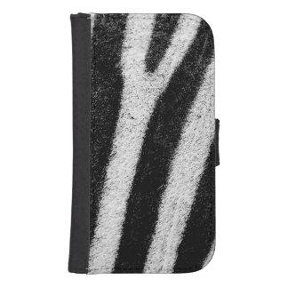 zebra samsung s4 wallet case