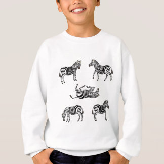Zebra selection 2 sweatshirt