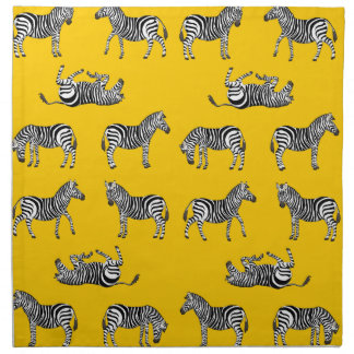 Zebra selection napkin