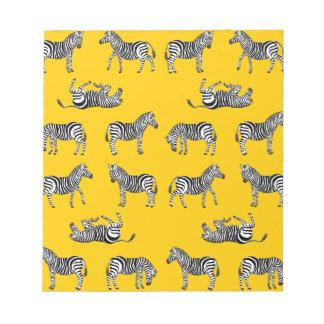 Zebra selection notepad