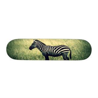 Zebra Skate Board