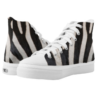 ZEBRA SKIN HIGH TOPS