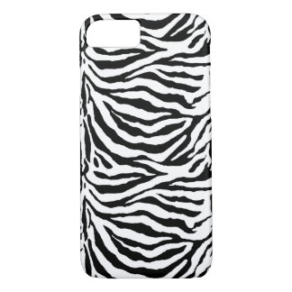 Zebra Skin-Look Stripes iPhone 7 Case