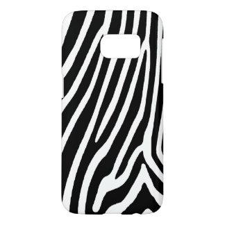 zebra skin, patterns samsung galaxy s7 case