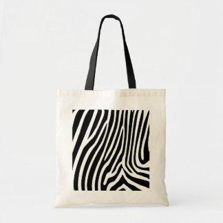 zebra skin, patterns tote bag