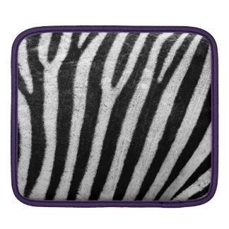 Zebra Skin Print iPad Sleeve