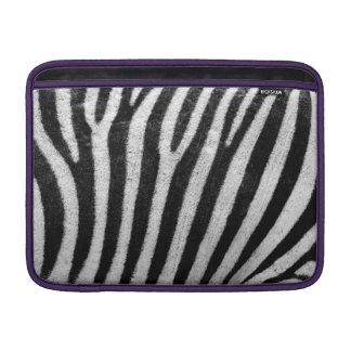 Zebra Skin Print MacBook Sleeve