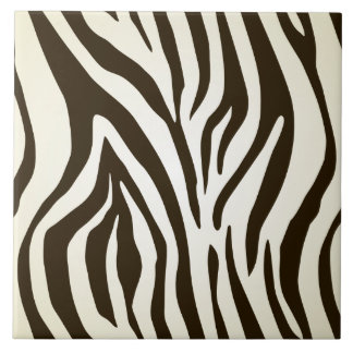 Zebra skin print stripes pattern tile