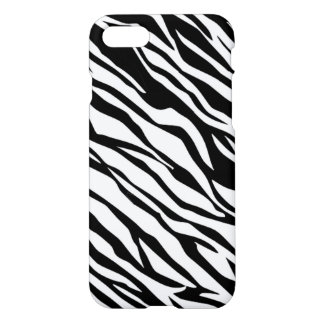 Zebra Skin Stripe Pattern iPhone 7 Case