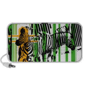 Zebra PC Speakers