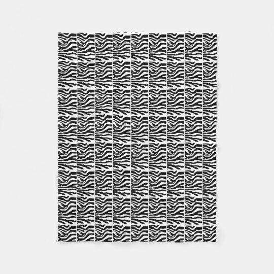 Zebra Squared Blanket