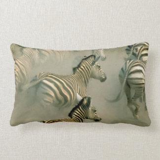 Zebra Stampede Lumbar Pillow