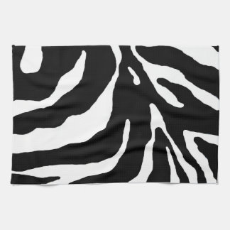 Zebra Stripe Animal Print Kitchen Towel