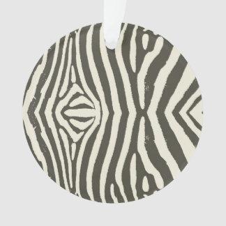 Zebra Stripe Ornament