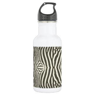 Zebra Stripe Pattern 532 Ml Water Bottle