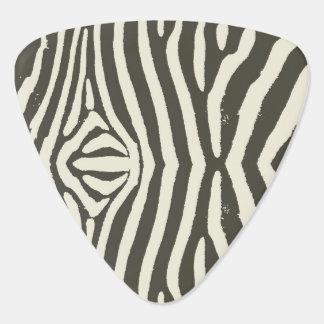 Zebra Stripe Pattern Guitar Pick