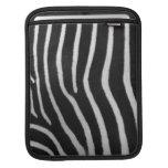 Zebra Stripe Pattern iPad Sleeve