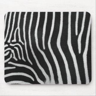 Zebra Stripe Pattern Mouse Pad