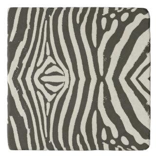 Zebra Stripe Pattern Trivet
