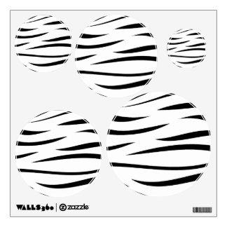 Zebra Stripes 2 Wall Decal