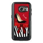 Zebra Stripes and Heels Otterbox Samsung S7 Case