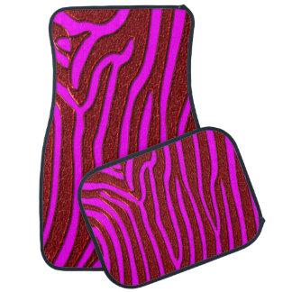 Zebra Stripes Auto Mat