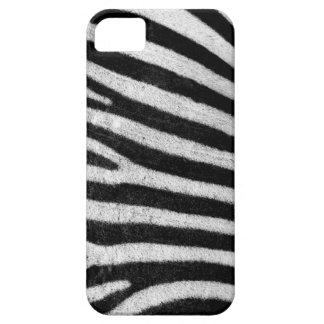 Zebra stripes black & white texture photograph iPhone 5 case