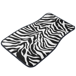 Zebra Stripes Car Mats Auto Mat