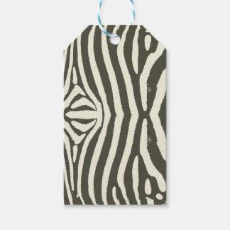 Zebra Stripes Gift Tags
