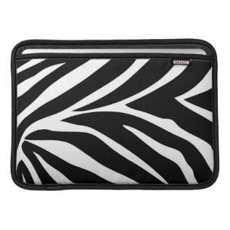 """Zebra Stripes"" MacBook Air 11"" Horizontal Sleeve"
