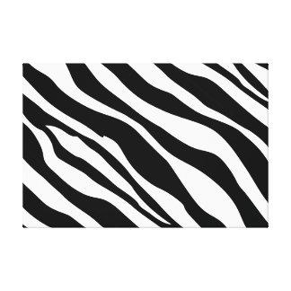 Zebra Stripes Modern Canvas Art