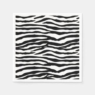 Zebra Stripes Paper Napkin