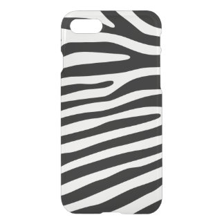 Zebra stripes pattern black & white + your ideas iPhone 7 case