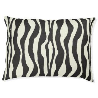 Zebra stripes pattern pet bed