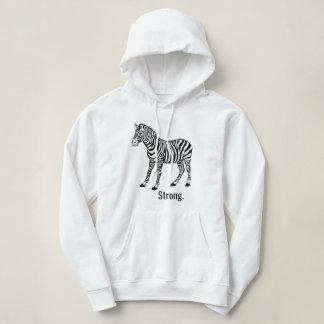 Zebra Strong Hoodie