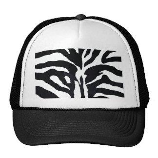 Zebra Style Hats