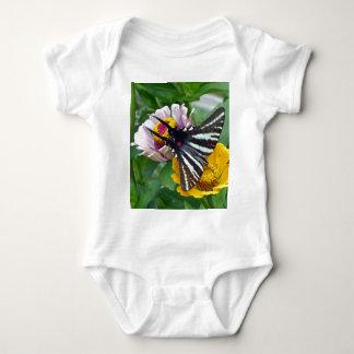 Zebra Swallowtail+Japanese Beetle Baby Bodysuit