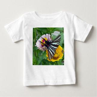 Zebra Swallowtail+Japanese Beetle Baby T-Shirt