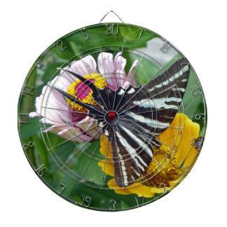 Zebra Swallowtail+Japanese Beetle Dartboard