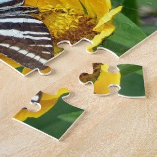 Zebra Swallowtail+Japanese Beetle Jigsaw Puzzle