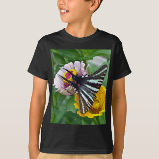 Zebra Swallowtail+Japanese Beetle T-Shirt