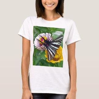 Zebra Swallowtail+Japanese Beetle T-Shirt