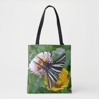 Zebra Swallowtail + Japanese Beetle Tote Bag