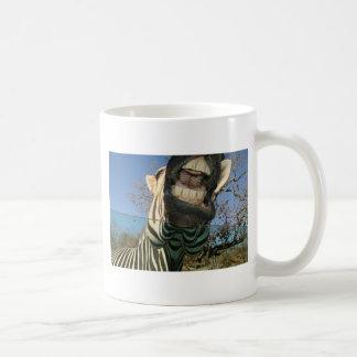 Zebra Teeth Coffee Mug