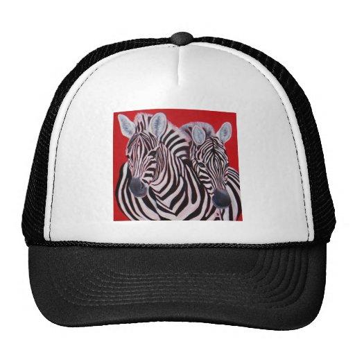 Zebra Twins Hat