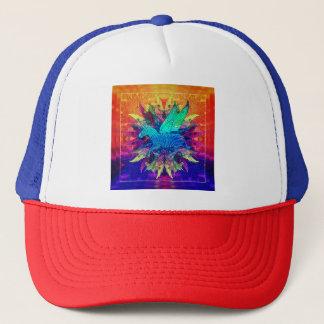 Zebra Unicorn Trucker Hat