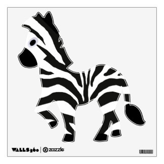 Zebra Wall Sticker