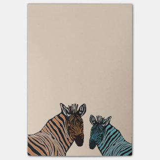 Zebra Wildlife Post-it® Notes